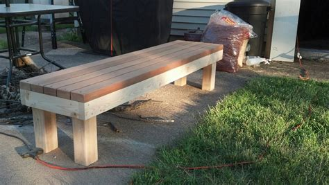2x4 benches simple 2x4 bench 2x4s pinterest