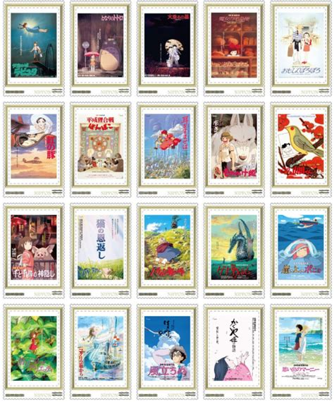 ghibli film order every ghibli movie poster is part of this beautiful