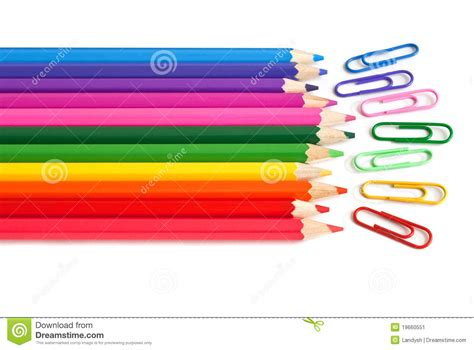 crayons that only write on paper colored crayons bunch royalty free stock photography