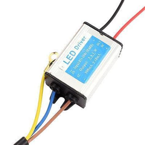 Led Driver 12v300w Water Reistence 86 265v 2 12v 300ma water resistant power supply driver for 3x1w led light in switching