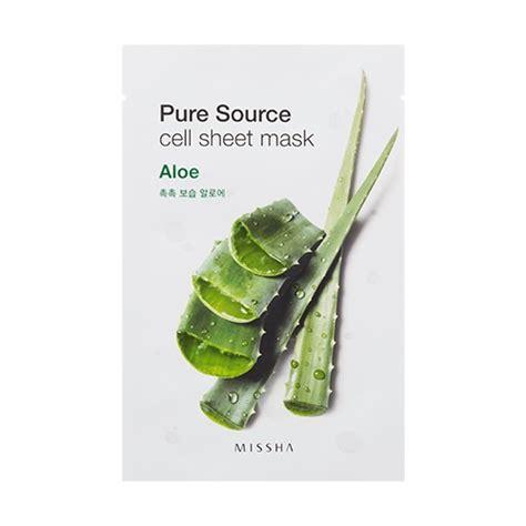 Body Comfort A Pure Source Missha Pure Source Cell Sheet Mask Aloe Skincare