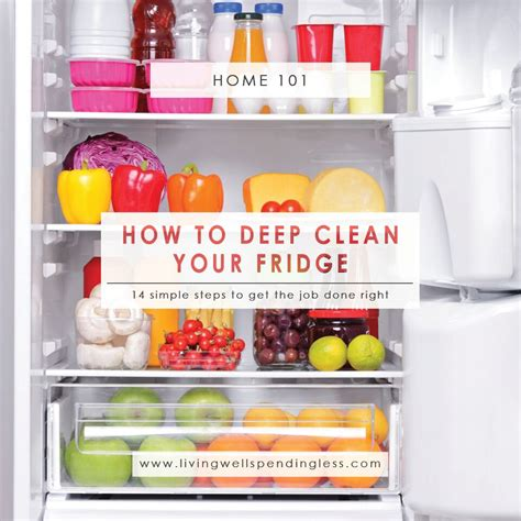how to deep clean how to deep clean your fridge square living well