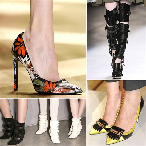 Fall Shoe Trends shoe trends from fall 2013 fashion week popsugar fashion