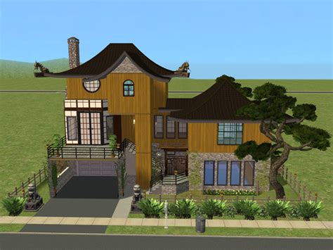 China House Ii by Mod The Sims House No Cc Fixed Version