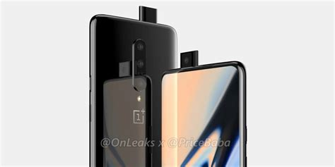 new oneplus 7 with popup selfie camera and triple rear