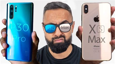 huawei p30 pro vs iphone xs max