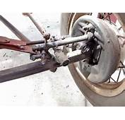 This Is The Original Front Suspension And Steering System You Can See