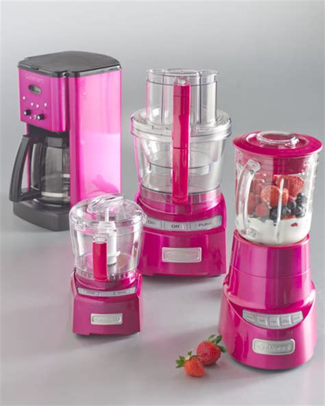 pink appliances kitchen cuisinart metallic pink kitchen appliances contemporary