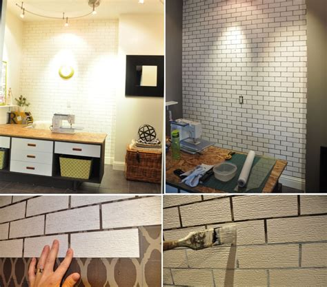 Fake Exposed Brick Wall by Simple Ways To Recreate The Look Of Real Exposed Brick Walls