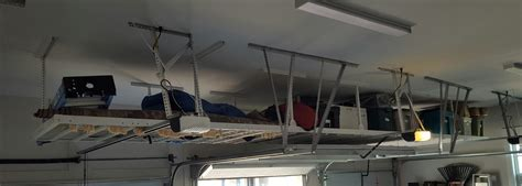 Garage Ceiling Storage Solutions by Jacksonville Overhead Storage Ideas Gallery Monkey Bars