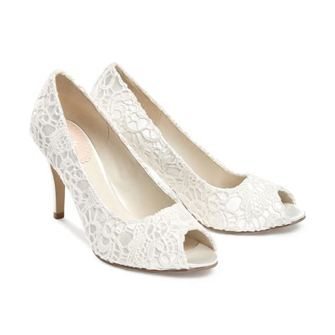 schuhe hochzeit ivory lace ivory wedding shoes 28 images lace ivory shoes