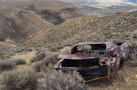 wrecked car old wrecked car and wildfire jimbo s journeys