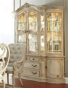 antique china cabinets and hutches rococo china cabinet