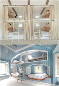 4 Bed Bunk Beds 10 Built In Bunk Bed Rooms With Clever Use Of Space