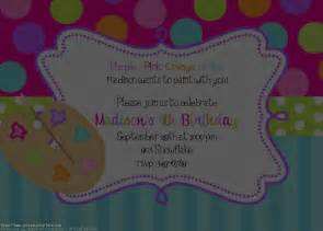 birthday party invitations free online free invitations