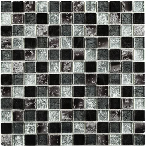 Mosaik Fliesen Schwarz by Classical Flagstones Ethan Black Mosaic Tiles