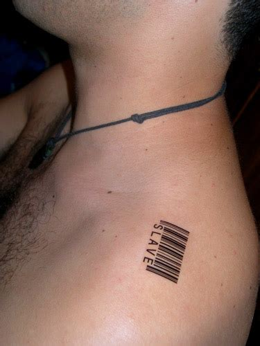 barcode tattoo shoulder barcode tattoo images designs