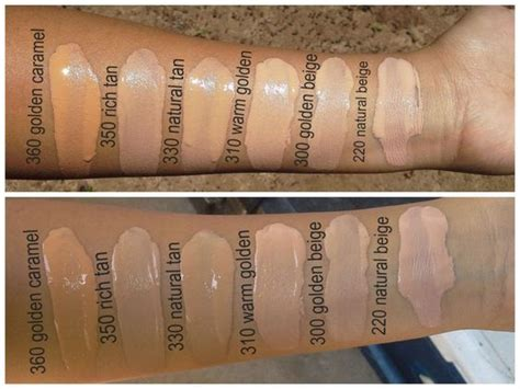 Guhdo 2in1 New Prima Uk 140 X 200 Sorong Only revlon colorstay foundations swatches in golden caramel rich warm golden
