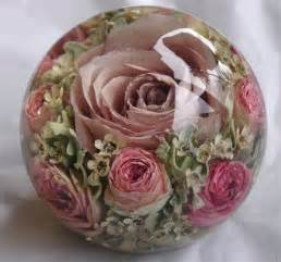 preserve wedding bouquet trendtuesday unique ways to preserve your bridal bouquet a handmade paperweight unique and