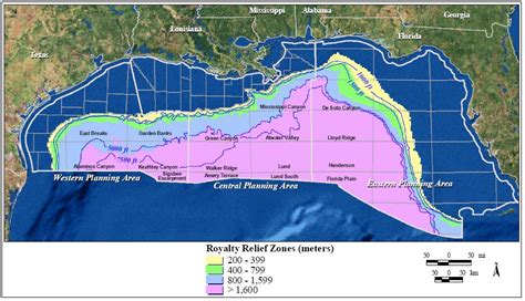 Outer Continental Shelf by Definitions Deepwater Gulf Of Mexico America S