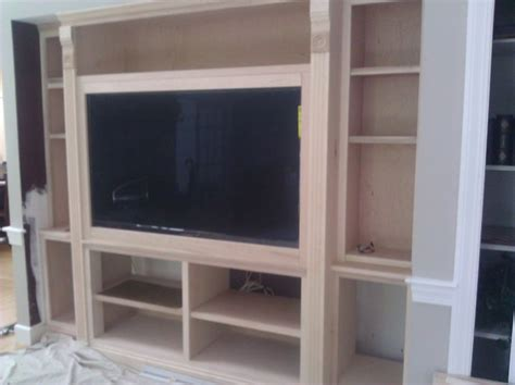 built in tv cabinet boston by