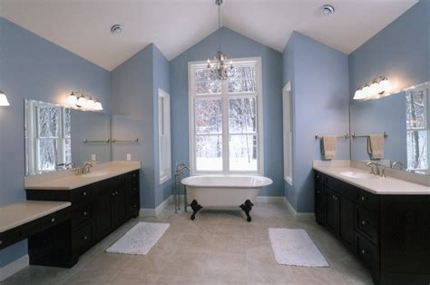 bath room elegant and cool blue bathroom ideas for sweet home