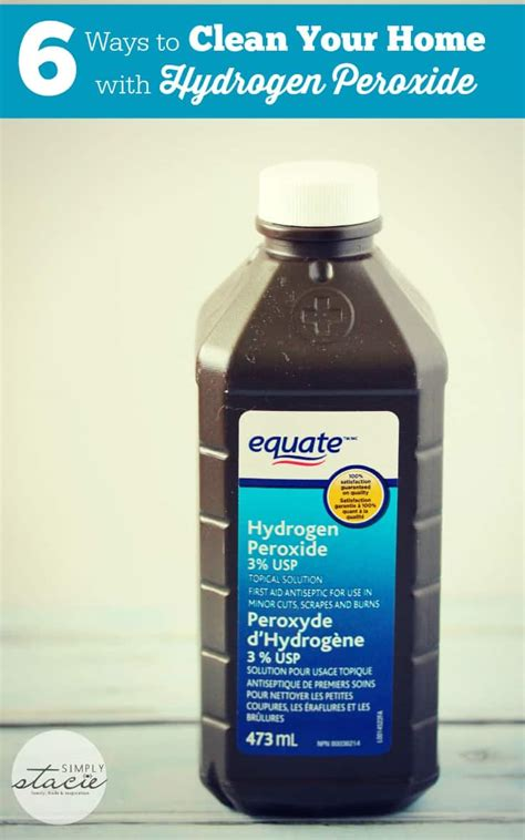 Hydrogen Peroxide 6 Solution Bleaching 100ml 6 ways to clean your home with hydrogen peroxide simply stacie