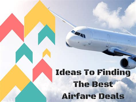 how to find cheap flights and get the best airline ticket