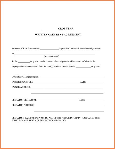 Lease Purchase Agreement Template