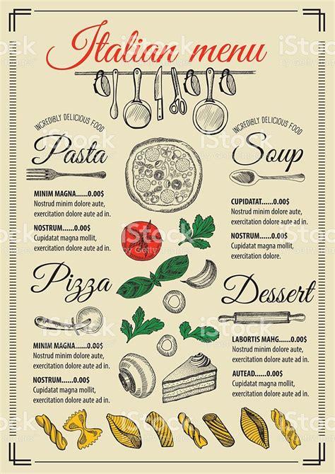 doc 128165 italian menu italian restaurant menu
