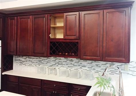 kitchen cabinets cherry finish cherry finish square maple kitchen cabinets