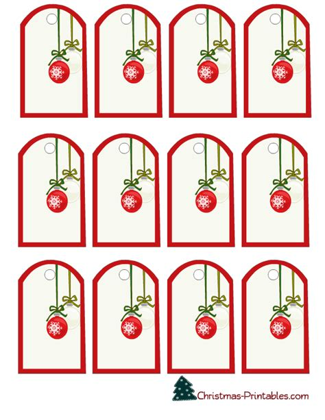 free printable christmas tags that you can type on free printable christmas gift tags