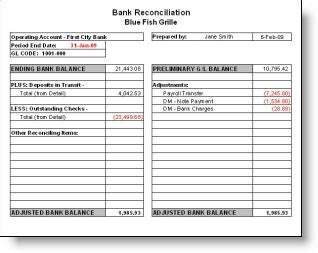 Balance Sheet Reconciliation Template Excel 13 Bank Statement Template Accounting Plantemplate Bank Reconciliation Template Excel Free
