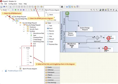 modelio bpmn diagram compatibility with ibm blueworks live modelio forum