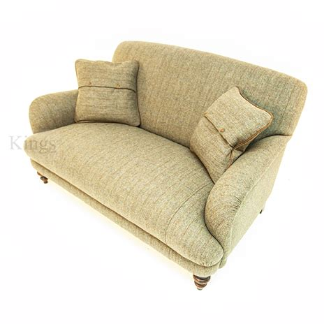 petite loveseat tetrad harris tweed braemar petit sofa