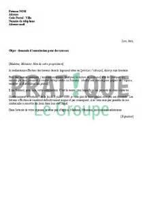 Lettre De Demande D Installation D Un Compteur Electrique Lettre 224 Propri 233 Taire Demande D Autorisation Pour Des Travaux Pratique Fr