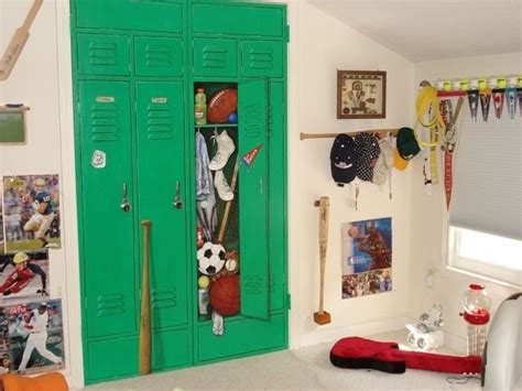 Locker Closet Doors by Crafted Closet Doors Painted Trompe L Oeil Style To