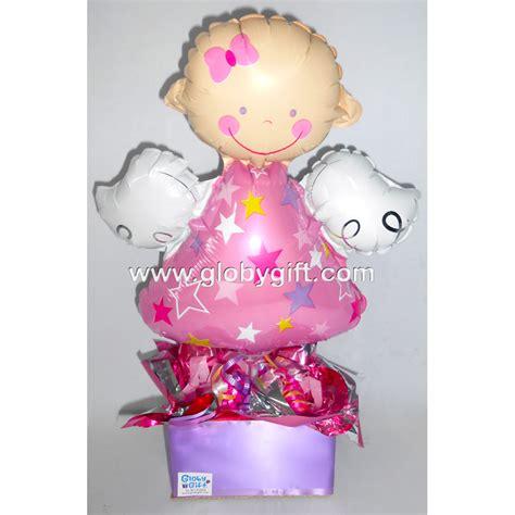 centro de mesa para baby shower y bautizo centro de mesa con globos para baby shower bautizo en monterrey globy gift