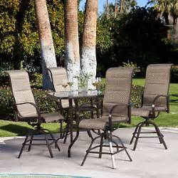 balcony height patio chairs new balcony bar height patio dining set 4 chairs and table