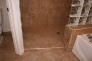 Shower Stall Without Door Walk In Doorless Showers