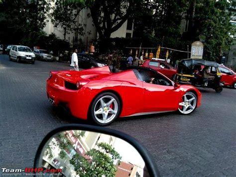 Ferrari 360 Modena Price In India by Ferrari 458 Spider In Mumbai Team Bhp