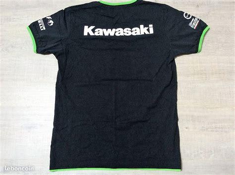 Kawasaki Racing Tshirt t shirt kawasaki apparel racing gil motor sport fra