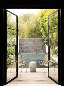 Steel Patio Doors by C Magazine Decks Patios Deck Pool Deck Steel French