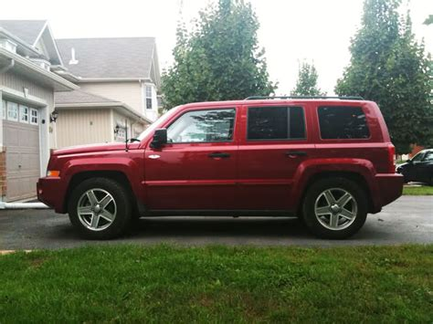 can you lift a jeep patriot lift kit installed with pics jeep patriot forums
