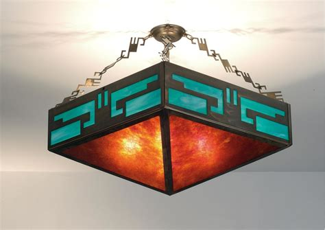 Southwest Light Fixtures Meyda 98048 N A Four Ceiling Light From The Southwest Mission Collection