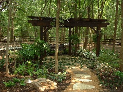 garden arbor swing wooded garden with arbor and swing outdoor spaces i love
