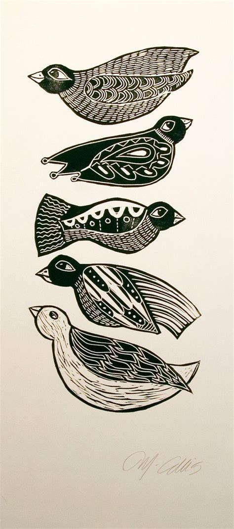 1000 ideas about 3 birds linoleum prints birds www imgkid the image kid has it