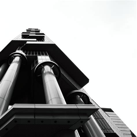black and white three uncluttered black and white architecture photography 3 fubiz media