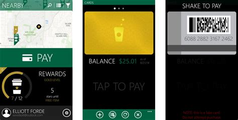 Add Starbucks Gift Card To Wallet - pay for your latte with mybucks a new starbucks app for windows phone windows central