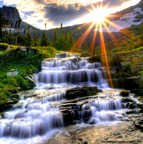 Waterfalls Scenery Hd   Free High Definition Wallpapers
